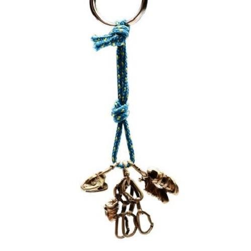 SAC #12 青銅鑰匙圈掛飾 徒手攀登