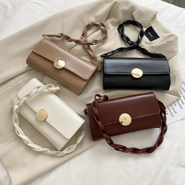 特賣 高級感女士包包流行新款潮時尚百搭ins單肩包網紅斜挎小方包