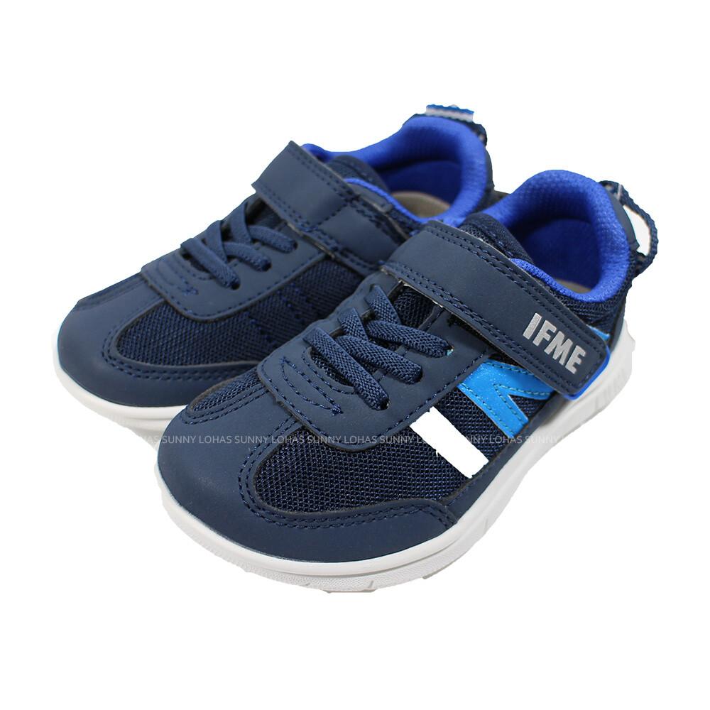 (b8) ifme 日本機能童鞋 light 護踝 超q底 學步鞋 if20-080411 深藍