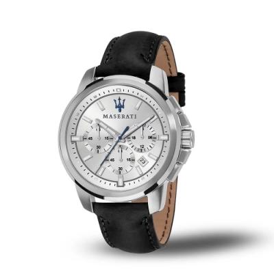 MASERATI 瑪莎拉蒂 SUCCESSO 時尚三眼計時腕錶44mm(R8871621008)