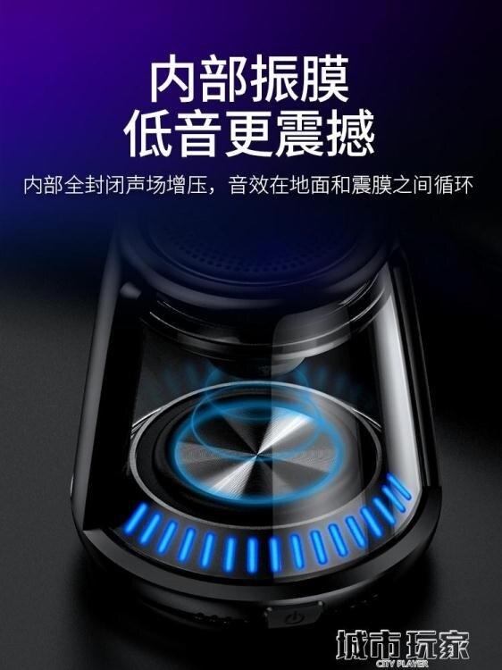音響 索愛G5無線藍牙小音箱戶外大音量超重低音炮便攜式小鋼炮迷你手機音響