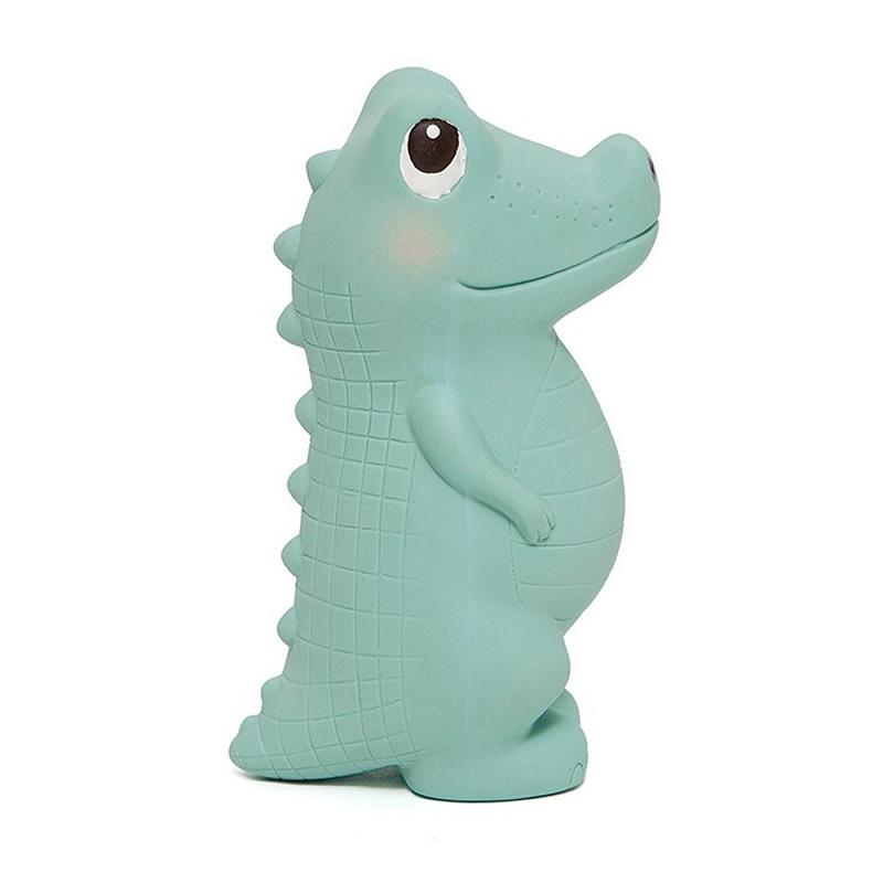 天然橡膠玩具-小鱷魚查理