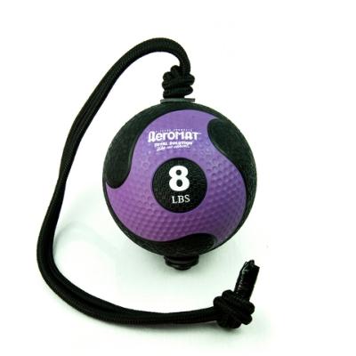 美國【AEROMAT】高級繩索藥球8磅
