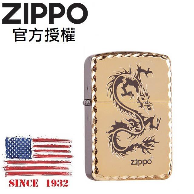 ZIPPO 1941 DRAGON(GOLD) 1941復刻金龍防風打火機
