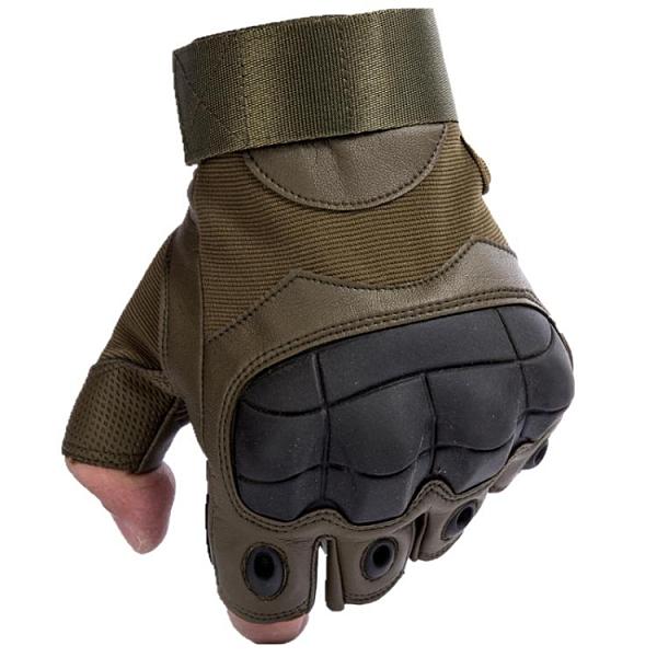 健身手套 戰術半指手套男士夏特種兵格斗拳擊戶外騎行機車摩托運動健身手套 一木良品