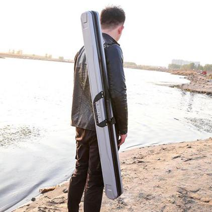 魚竿包abs硬殼漁具包魚具包