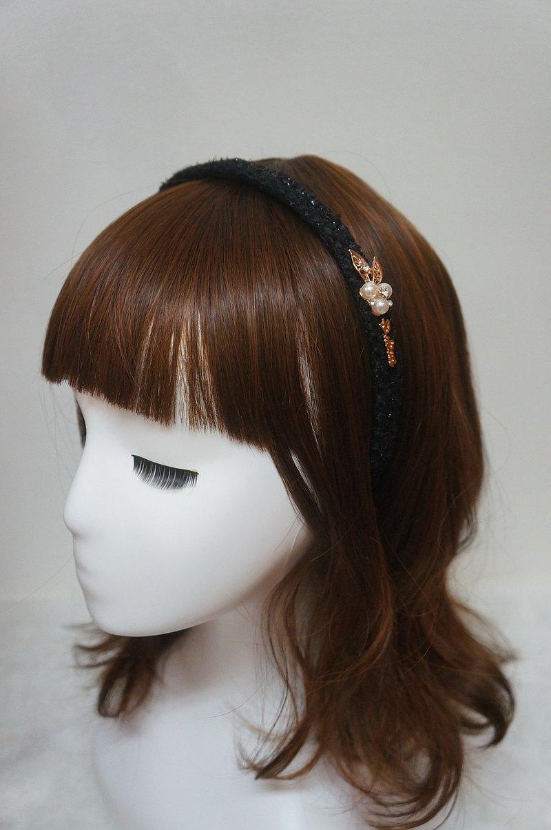 C-超舒適髮箍/髮圈 - 髮箍髮圈髮帶蝴蝶結類 小香風毛尼