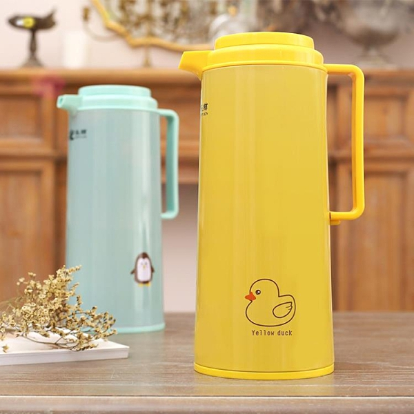 保溫壺家用保溫水壺大容量熱水瓶暖壺玻璃內膽女生卡通保溫瓶 3C數位百貨