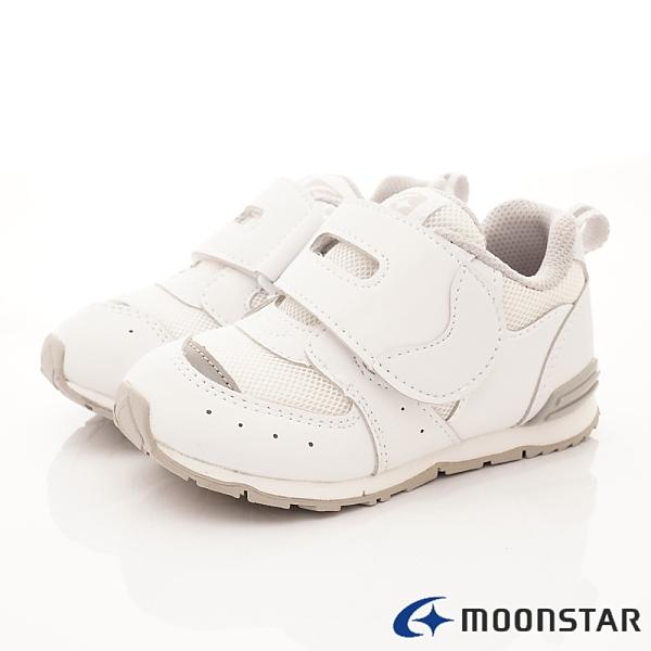 日本Moonstar機能童鞋 HI系列穩定款 22701白(中小童段)