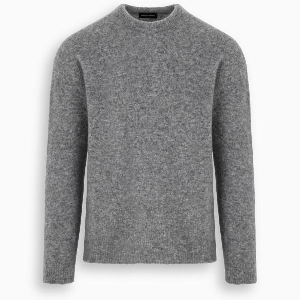 Roberto Collina Grey cashmere sweater