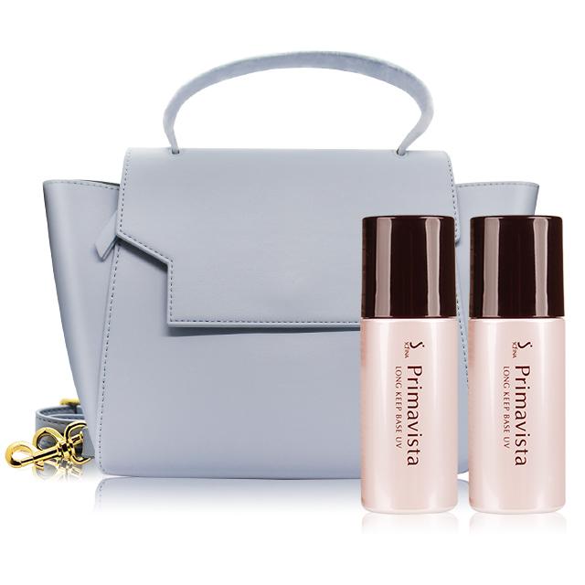 SOFINA 蘇菲娜 Primavista 零油光妝前修飾乳SPF20‧PA++(升級版) (25ml)X2加贈質感兩用提包