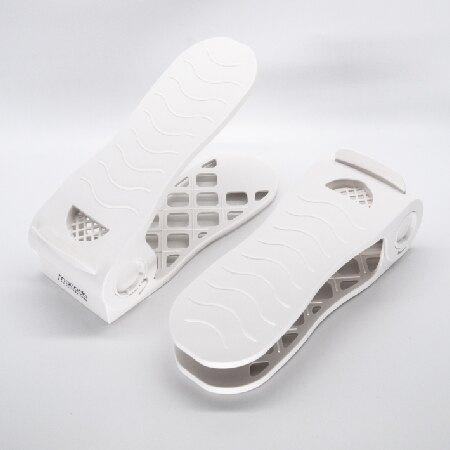 MIT六段可調式鞋架(2入組)【mocodo魔法豆】