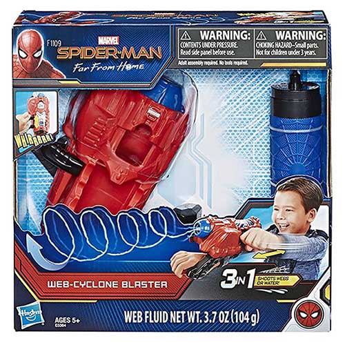 Hasbro 孩之寶 漫威蜘蛛人旋風蜘蛛絲發射器