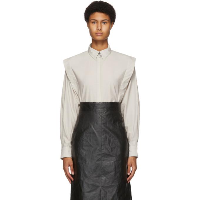 Isabel Marant 灰白色 Talki 衬衫