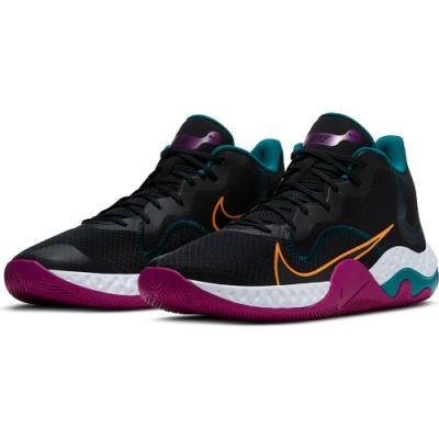 NIKE 籃球鞋 緩震 包覆 明星款 運動鞋 男鞋 黑 CK2669005 RENEW ELEVATE