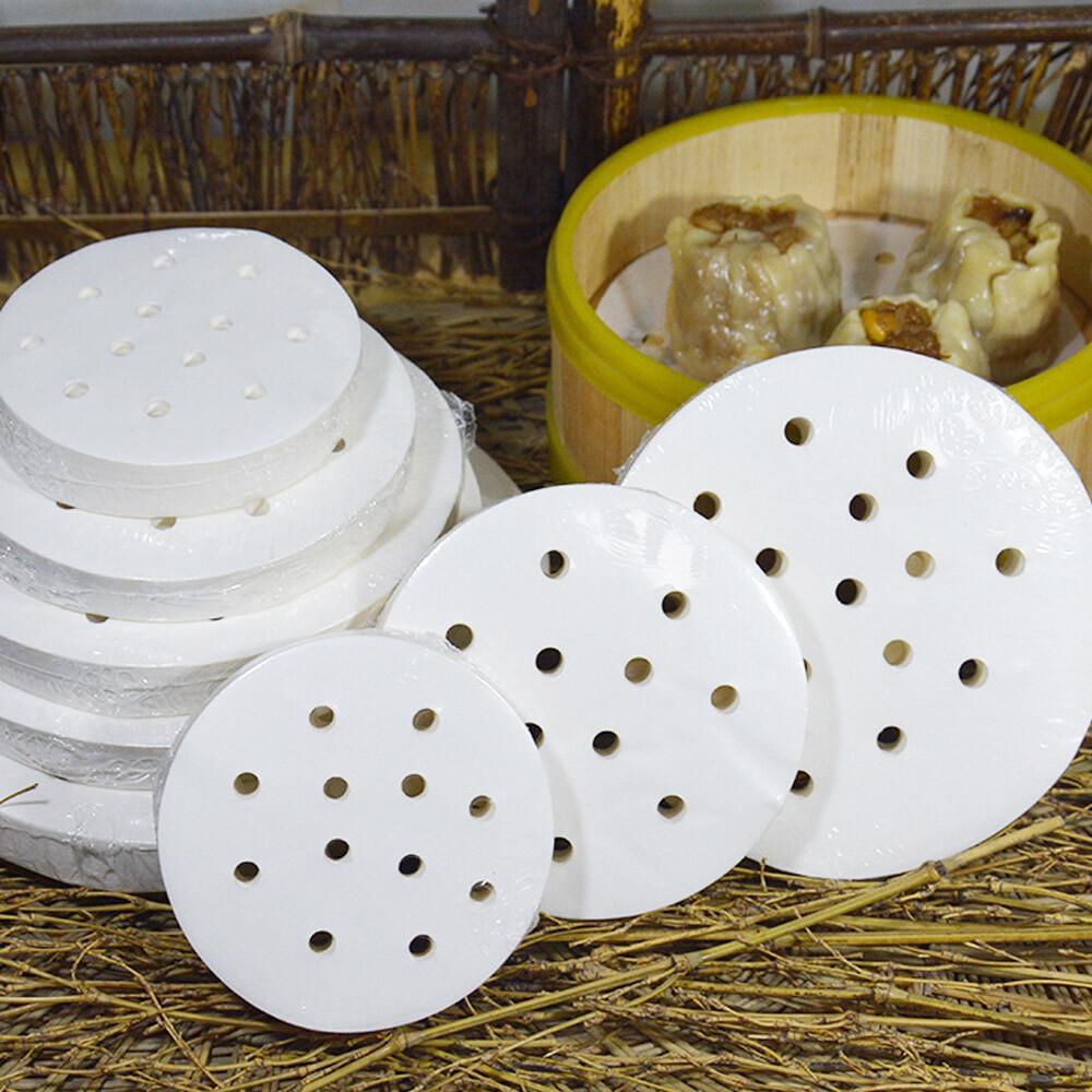 廚房圓形蒸籠紙/烘焙紙400入(5.5吋/14cm)氣炸鍋專用烘焙紙