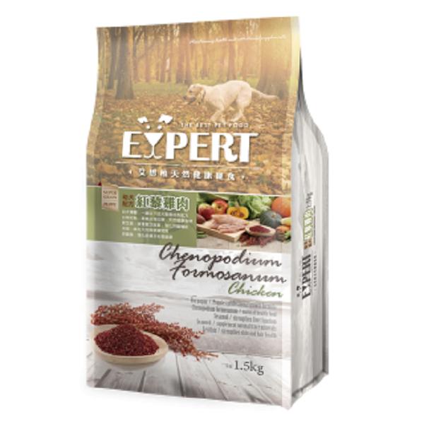 expert艾思柏紅藜寵食 幼犬配方-紅藜雞肉1.5kg