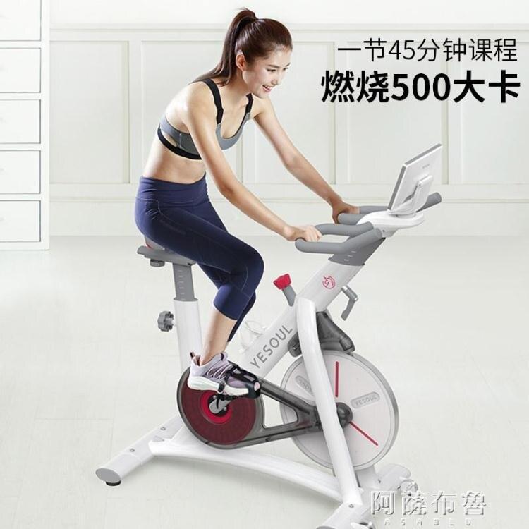 動感單車 YESOUL野小獸磁控動感單車家用男女器材室內健身車超靜音S1