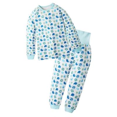 Baby童衣 兒童護肚睡衣套裝 寶寶居家套裝 空氣棉保暖套裝 男女童兒童睡衣 70118