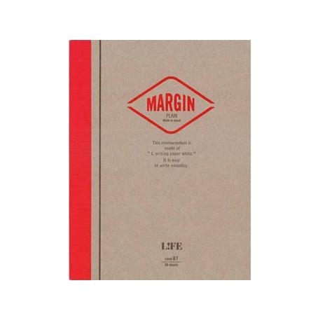 LiFE Margin Memo/ semi B7/ 空白便條紙 eslite誠品