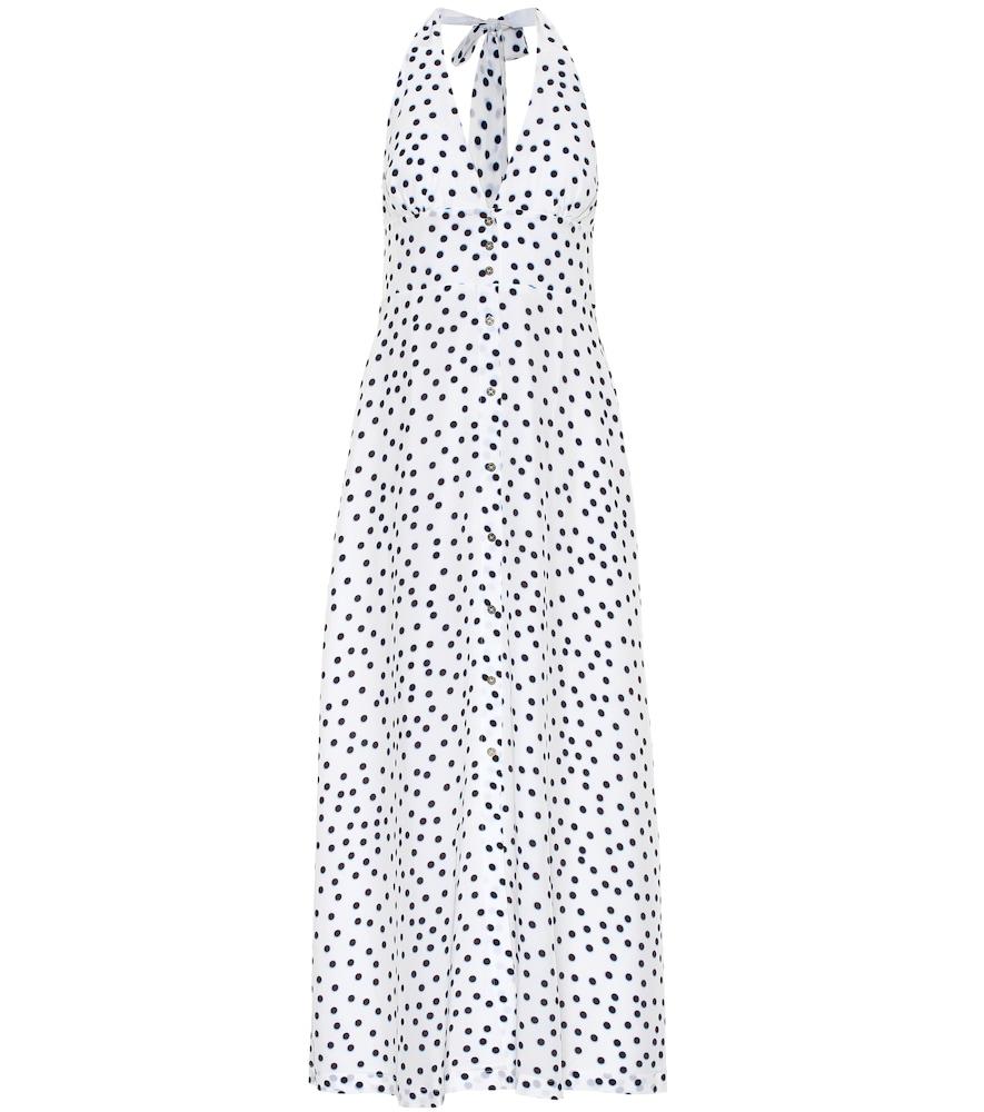Santa Margherita silk maxi dress
