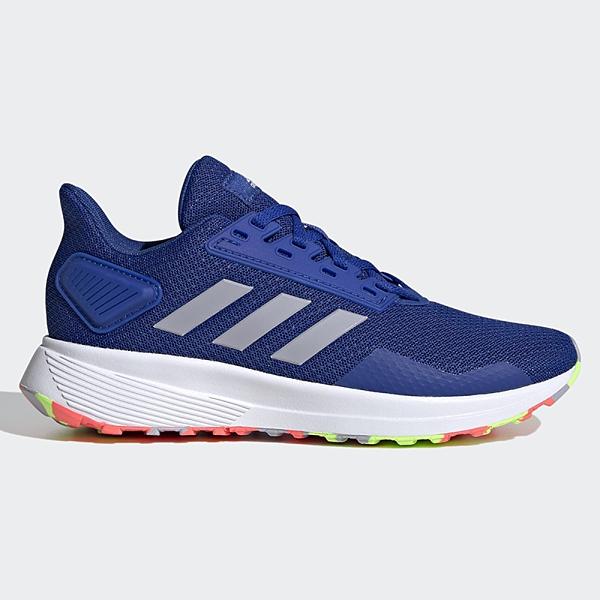 ADIDAS DURAMO 9 女鞋 大童 慢跑 訓練 休閒 透氣 藍【運動世界】FV8824