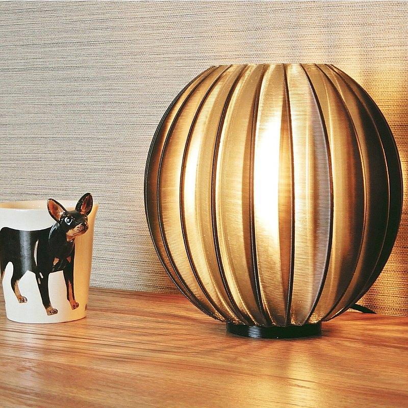 3D列印桌燈 - 造型A款 - 透黑色