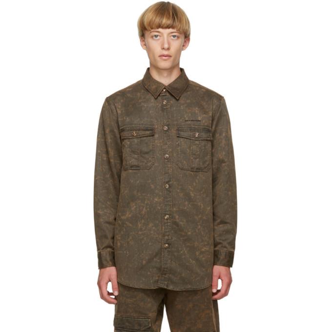 Han Kjobenhavn 棕色 Garden 衬衫