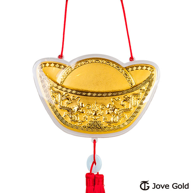 Jove gold 謝神明金牌-金元寶加大版0.2錢