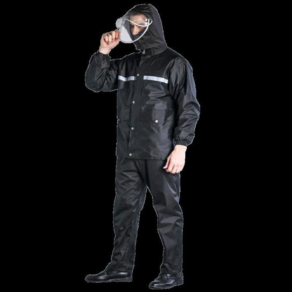 雨衣 雨衣雨褲套裝男女士防水雨披全身電動車連體分體加厚騎行外賣雨衣