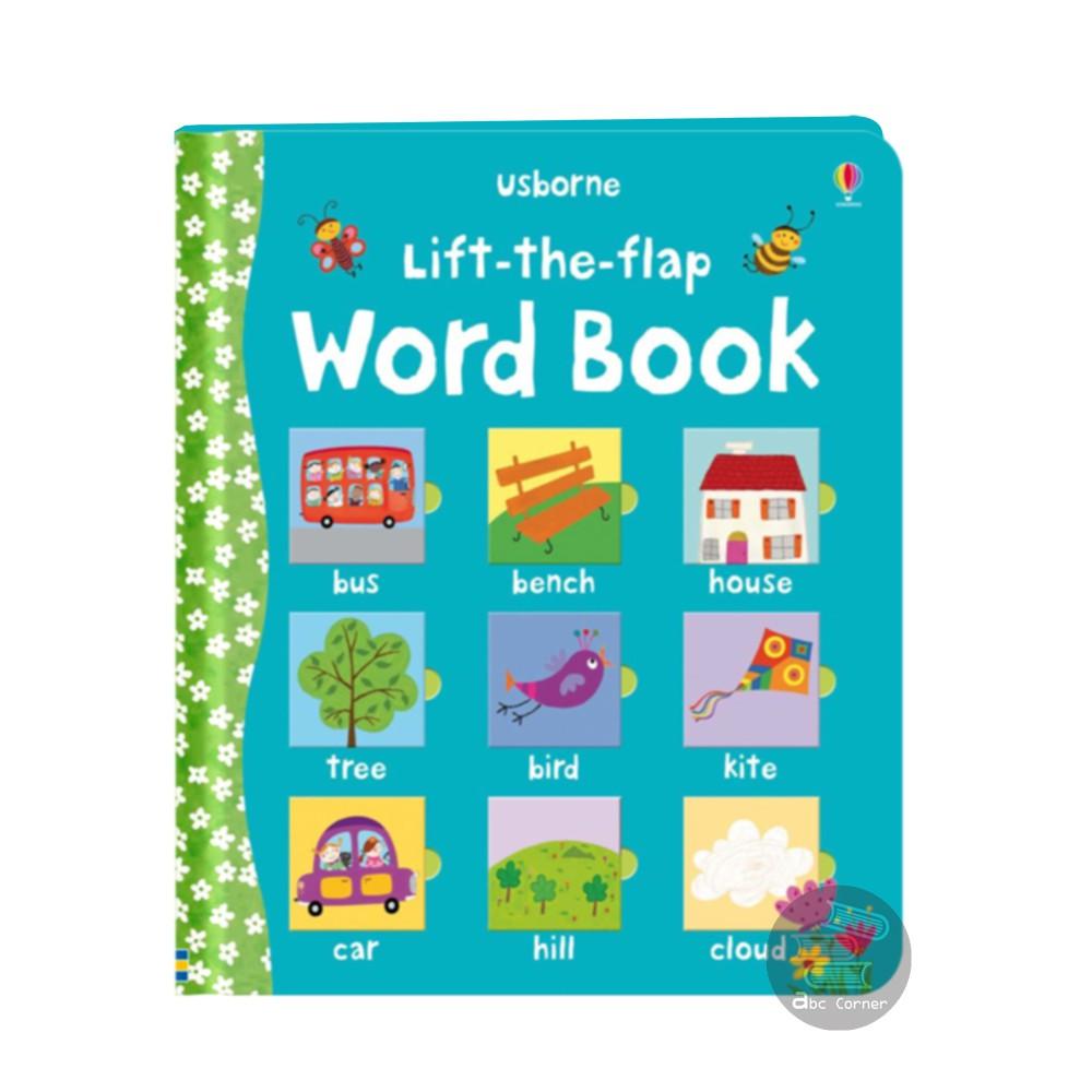 【Lift-the-flap Word Book】超過70個大小的翻翻機關 正版現貨