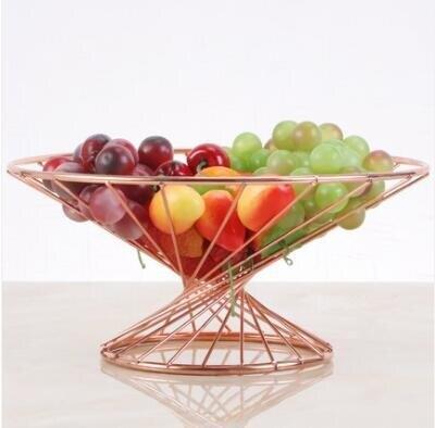小蠻腰水果籃客廳擺設創意茶幾水果盤家用【99購物節】