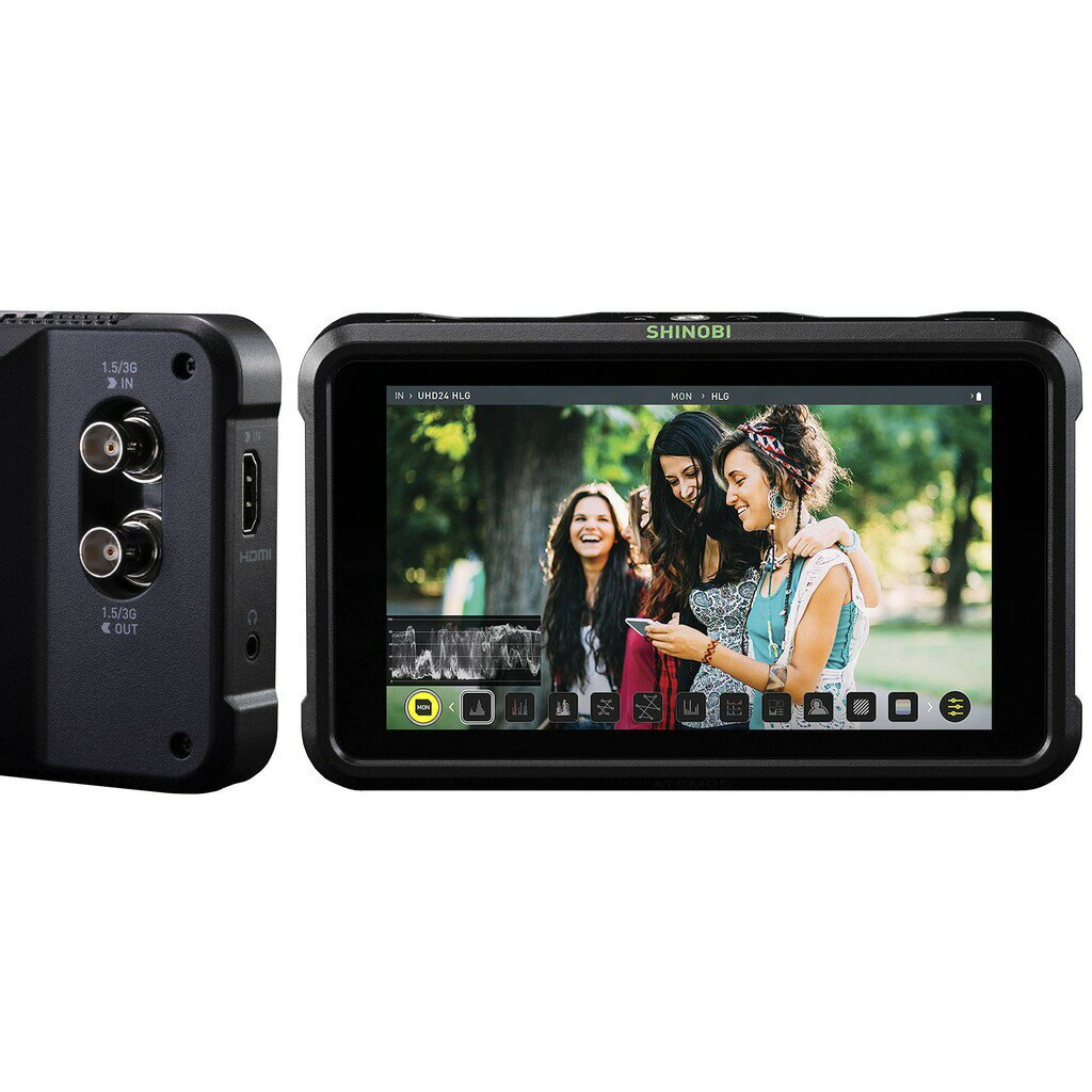 【eYe攝影】全新 原廠 ATOMOS SHINOBI SDI 5吋監視器 監控螢幕 4K HDMI HD-SDI 高亮度 A7 R5 R6