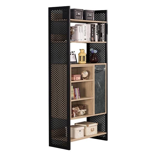 雷納爾2.7尺書櫥(21CM/875-2)/H&D東稻家居