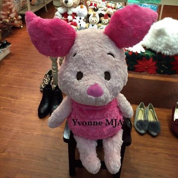 *Yvonne MJ* 美國 迪士尼 限定正品 小熊維尼 好朋友 piglet 小豬 超柔軟 絕版 大娃娃