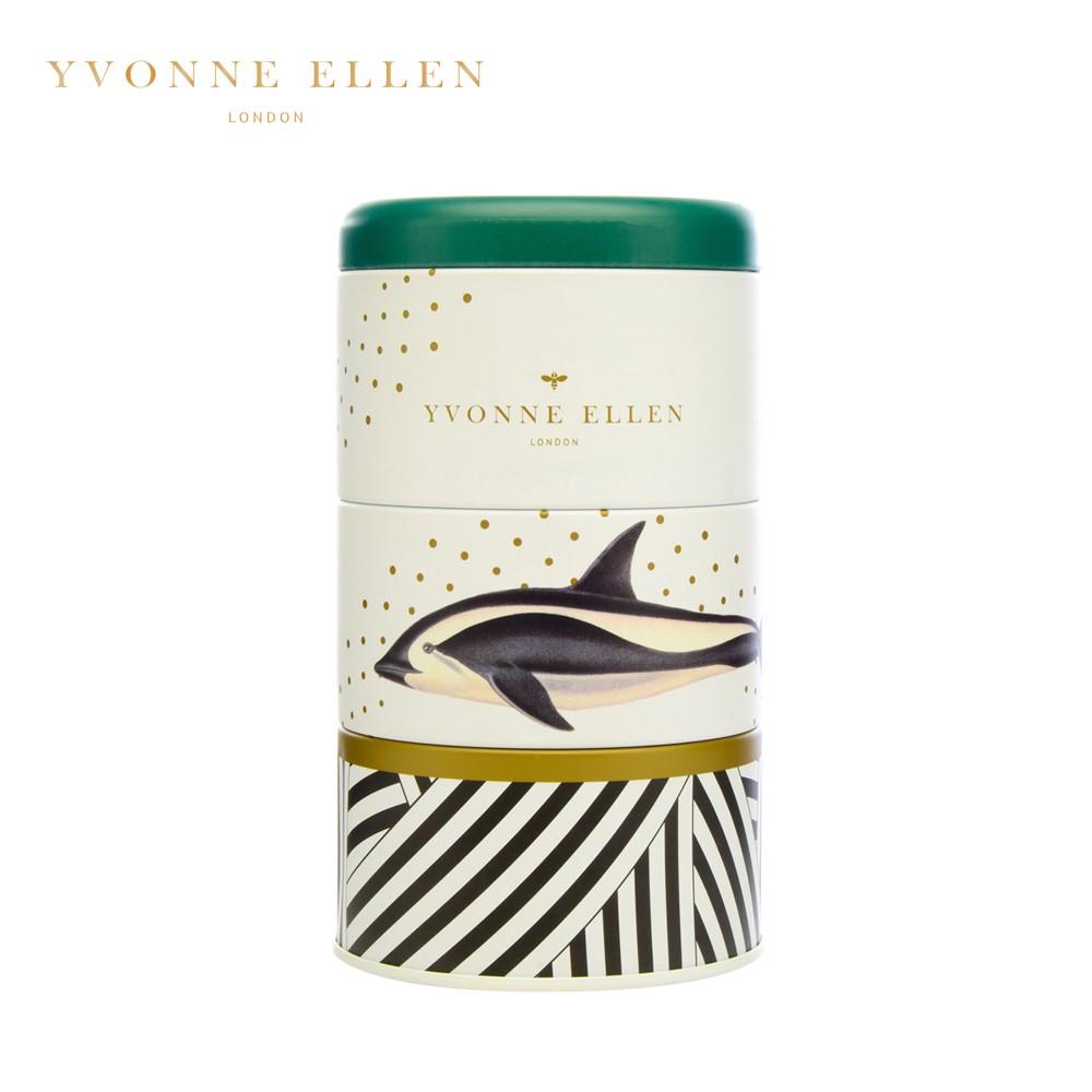 【WAX LYRICAL】Yvonne Ellen聯名款 動物饗宴三層蠟燭禮盒(寧靜潮水)