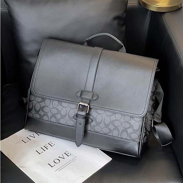 【5折超值價】潮流時尚歐美商務風格百搭側背包