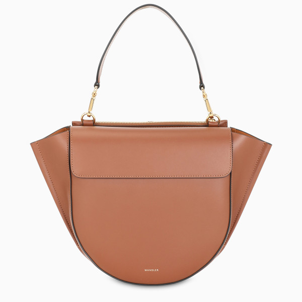 WANDLER Tan medium Hortensia bag