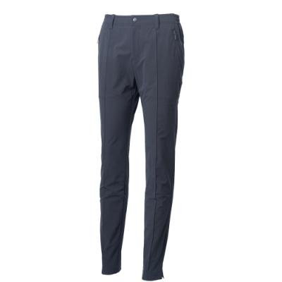 【WILDLAND荒野】女彈性保暖休閒長褲深灰色