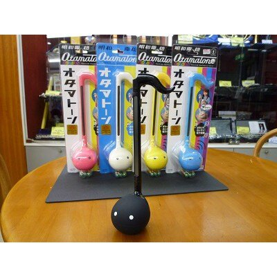 【預購】正版❣特価❣Otamatone 明和電機 音樂蝌蚪電子二胡 玩具 樂器 27cm 藍色【星野日本玩具】