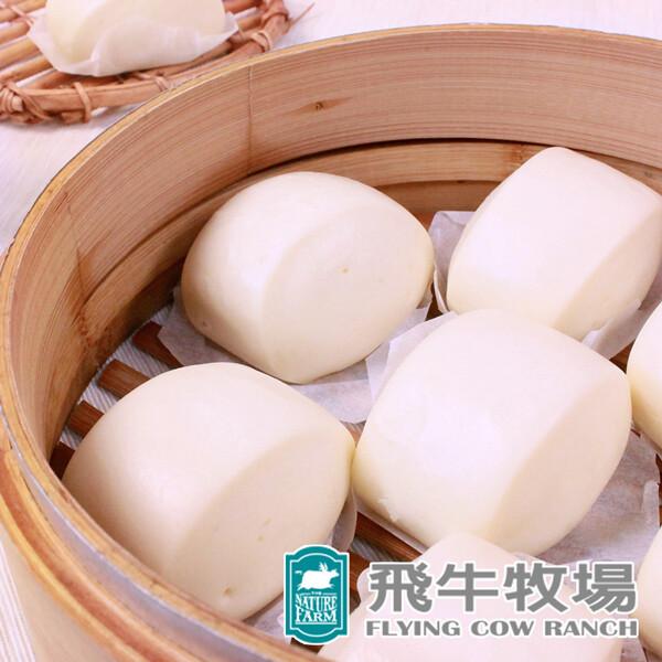 飛牛牧場鮮奶/乳酪饅頭 (390g/6入/包)