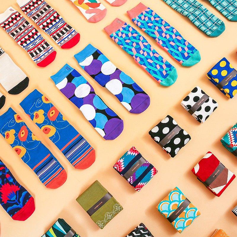 | 送禮系 | 印花襪禮品組合–六雙組合