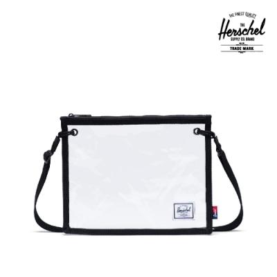 【Herschel】Alder 斜背包-透明黑