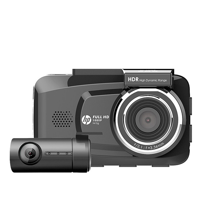 HP惠普 F410g 區間測速 前後雙錄GPS行車紀錄器 送64G卡 泰山門市安裝 (禾笙科技)