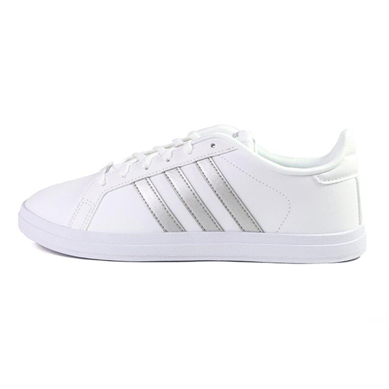 Adidas Courtpoint 白色 皮質 網球運動鞋 女款NO.J0534【新竹皇家 FW6670】
