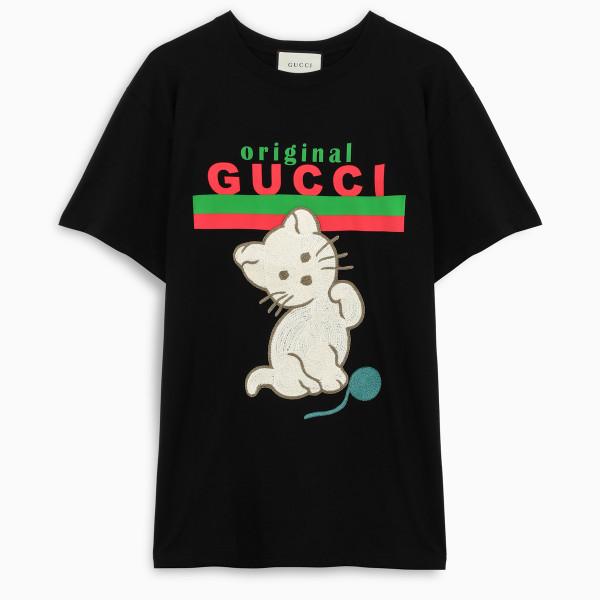 Gucci T-shirt crew-neck short sleeve