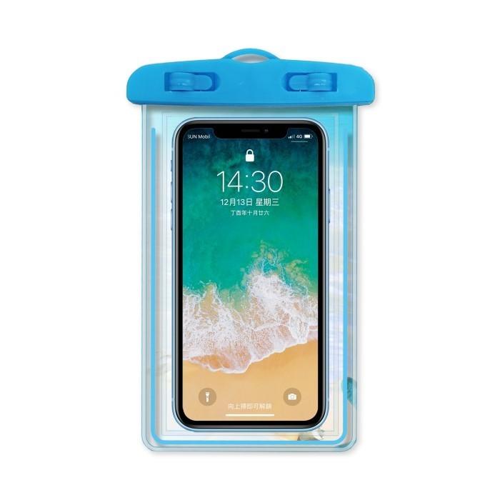 6.5吋專業型手機防水袋 (夜光款) 大尺寸防水套 手機袋 手機防水殼 防水手機套 防水保護套