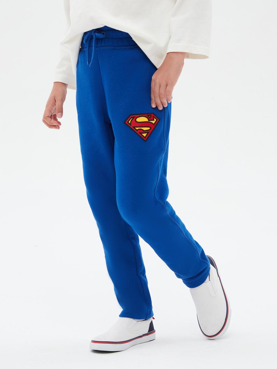 男童 Gap x DC™正義聯盟系列印花鬆緊休閒褲