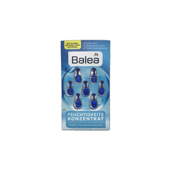 德國Balea藍藻保濕補水精華膠囊