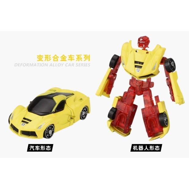 1:64 合金 變形車 合金車 滑行 玩具車 變形機器人 變形金剛cf137608